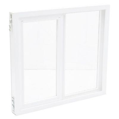 Ventana Simple Corrediza PVC 100 x 090 x 9 cm 1 hoja