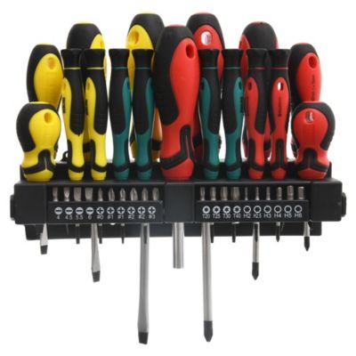 Kit de destornilladores + puntas 38 piezas