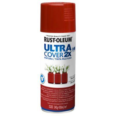 Pintura en aerosol multiuso ultra cover 2x rojo...