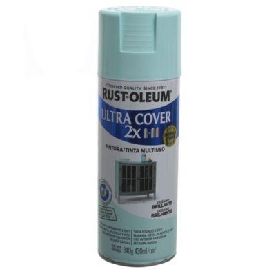 Pintura en aerosol multiuso ultra cover 2x ocea...