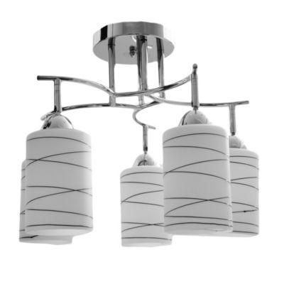 Lámpara colgante Lugo 5 luces E27