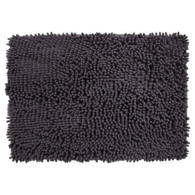 Alfombra de baño ladrillo 43 x 61 cm gris