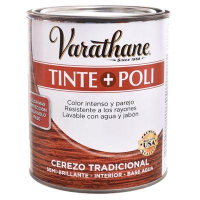 Tinta + poliuretano cerezo tradicional 0,946 L