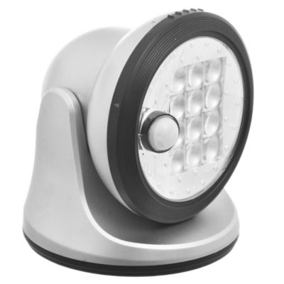 Farol 12 LED Plata
