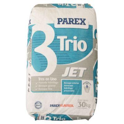 Parex-trio jet mortero proyectable para exterior