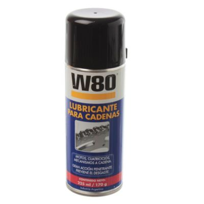 W80 lubricante para cadenas aerosol 170 g