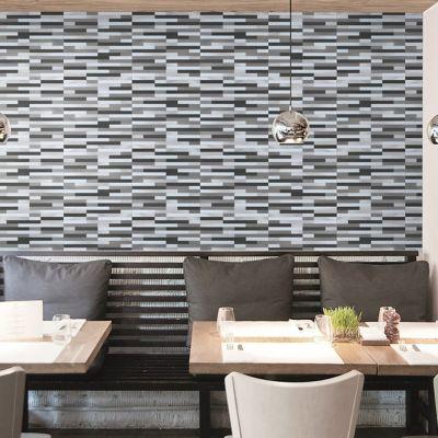 Malla mosaico 30 x 30 cm lund alu s.gray