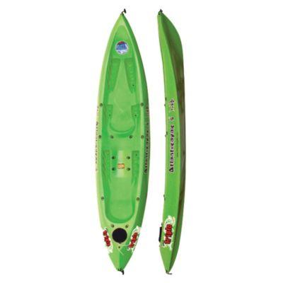 Kayak triplo verde