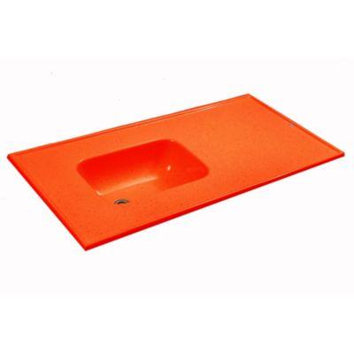 Mesada 140 x 60 cm rojo