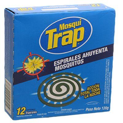 Espiral repelente para mosquitos x 12 u