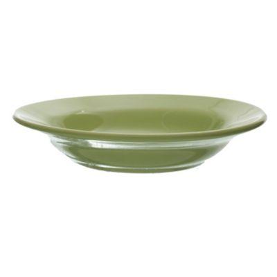 Plato hondo verde manzana 21 cm