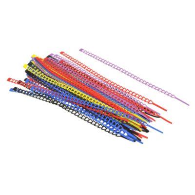 Set 50 piezas amarra cable plasticos