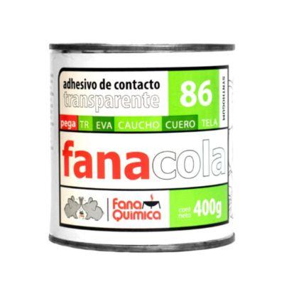 Adhesivo de contacto 86 Transparente 400 gr