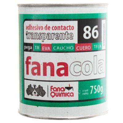 Adhesivo de contacto 86 Transparente 750 gr