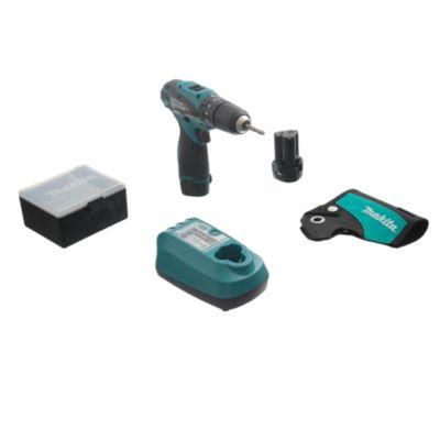 Atornillador inalámbrico 10.8 V + maletín + organizador de puntas