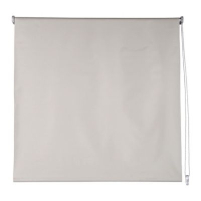 Cortina enrrollable black out beige 80x165