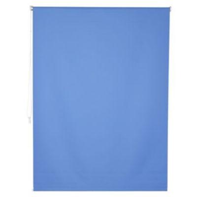 Cortina enrrollable black out azul 100x100