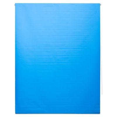 Cortina enrollable black out azul 150 x 250 cm