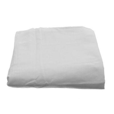 Mantel redondo 180 cm blanco