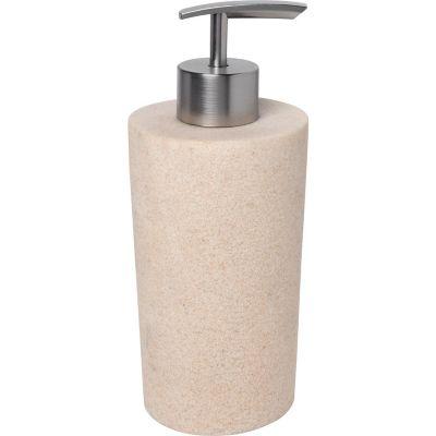 Dispensador de jabón de resina gris