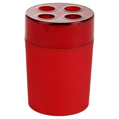 Portacepillor Rubber rojo