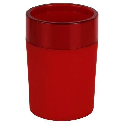 Vaso Rubber rojo