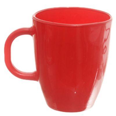 Mug Amanecer vidrio rojo 370 ml