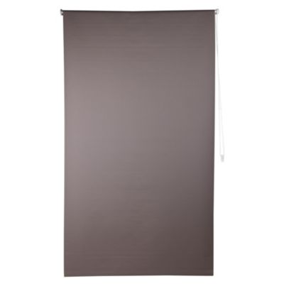Cortina enrollable café black out 150 x 250 cm