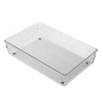 Organizador de acrílico para cajón 4x12x3 cm