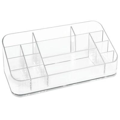 Caja plástica organizadora para maquillaje