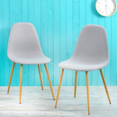 Set x 2 sillas tamesis gris