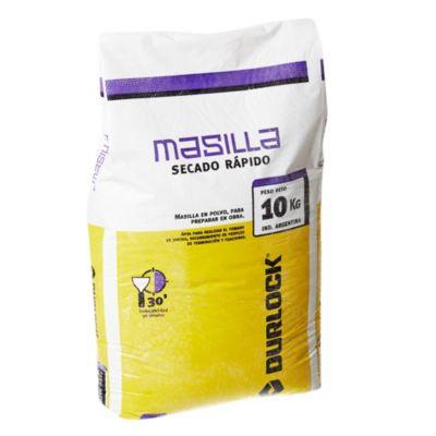 Masilla secado rápido 30 minutos bolsa 10 kg