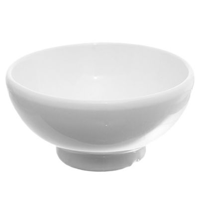 Compotera redonda blanco