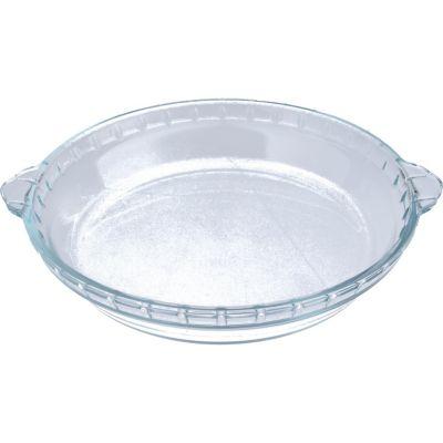Fuente de vidrio redonda