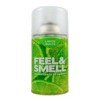 Ambientador en aerosol limón dulce