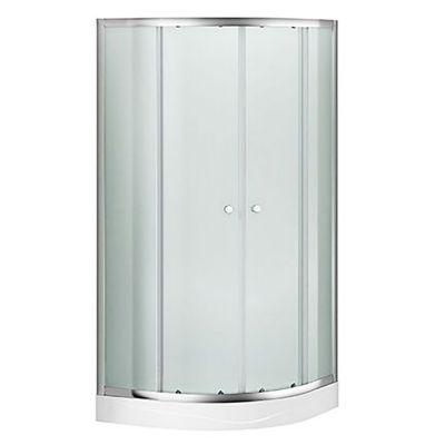 Cabina de ducha curva 90 x 90 cm