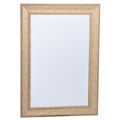 Espejo decorativo 78 x 108 cm dorado oro