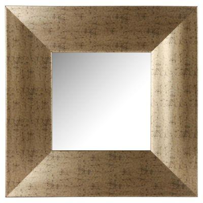 Espejo decorativo Dorado 40 x 40 cm