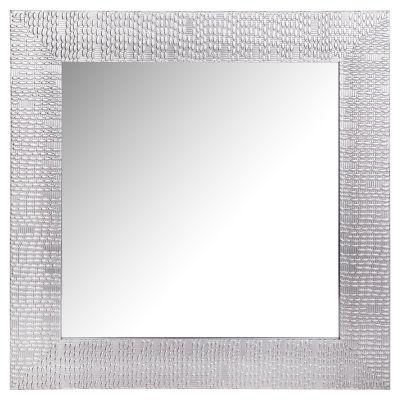 Espejo decorativo Plata 40 x 40 cm