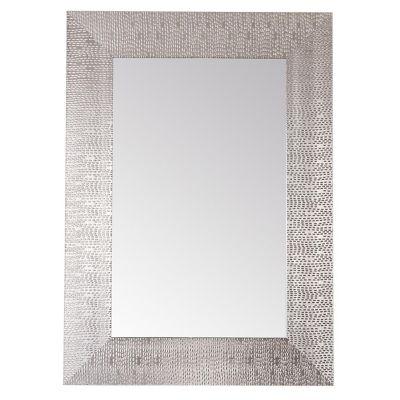 Espejo decorativo deco 50 x 70 cm Plata