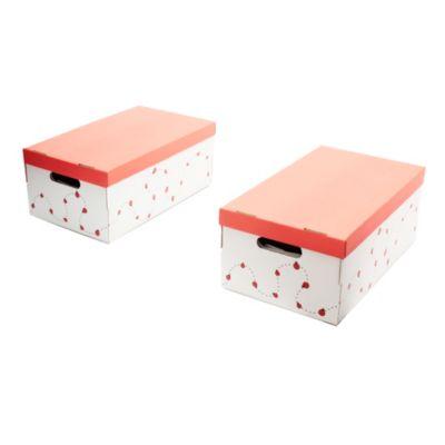 Set de 2 cajas infantiles 50 x 29 x 20 cm
