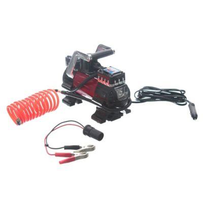 Compresor 12 v dos cilindros con linterna LED