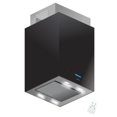 Campana de cocina qubix negro touch 60