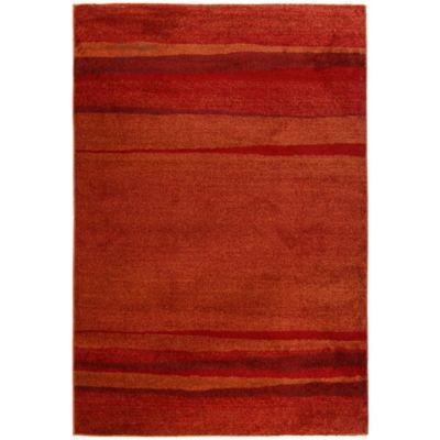 Alfombra Océano Roja 160 x 230 cm