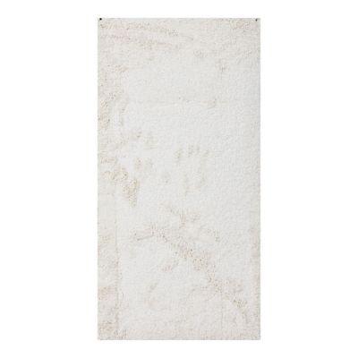Alfombra Delight Cosy Ivory blanca 60 x 115 cm