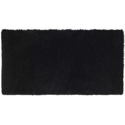 Alfombra Delight Cosy negro 60 x 115 cm