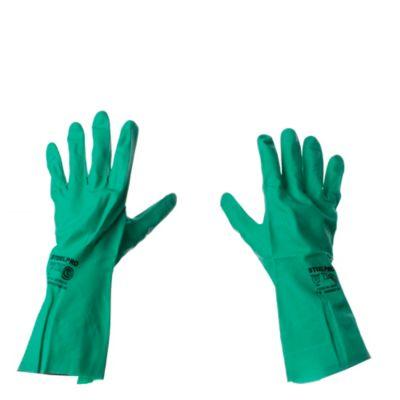 Guantes de nitrilo verde