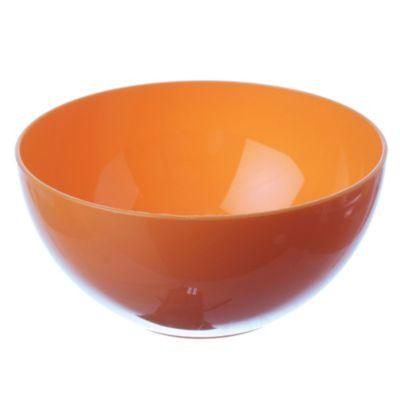 Compotera naranja-amarrillo-fucsia 14 cm
