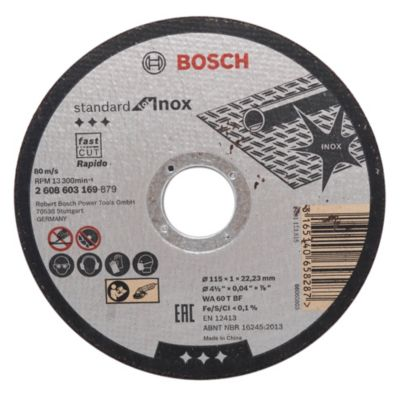 Set 10 disco corte metal acero inoxidable 115 x...