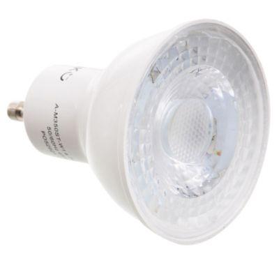 Lamparita dicroica LED cálida GU10 de 4,7 w